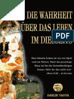 Die Wahrheit Über Das Leben Im Diesseits. German Deutsche