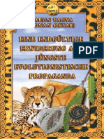 Eine Endgültige Erwiderung Auf Jüngste Evolutionistische Propaganda. German Deutsche
