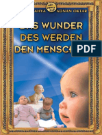 Das Wunder Des Werden Den Menschen. German Deutsche