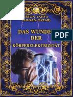 Das Wunder Der Körperelektrizität. German Deutsche