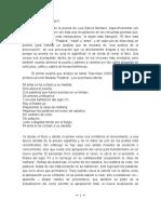 Análisis de tres poemas de García Montero