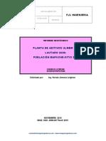 Estudio Geotécnico Galpón Industrial - Comuna de La Pintana