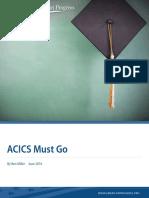 ACICS Must Go