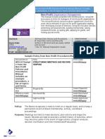 Bizmanualz Non Profit Policies and Procedures Sample (1)
