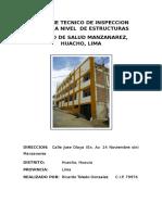 Informe Tecnico de Evaluacion Manzanares