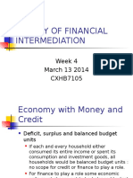 Theories of Financial Intermediation