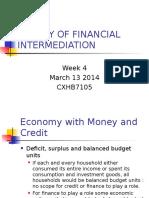 Theories of Financial Intermediation
