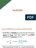 Tema 21.3 Ley Ohm(1)