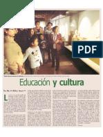 Educación y Cultura - Art Suplem Dominical Mayo 2016