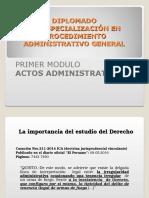 Modulo i - Actos Administrativos