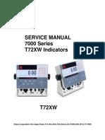 Service Manual T72XW en 30244628A