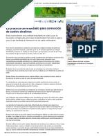 Diario de Cuyo - La Práctica Del Enyesado Para Corrección de Suelos Alcalinos