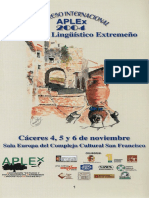 Congreso Internacional APLEx 2004
