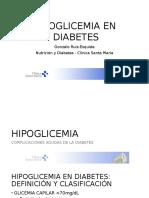Hipoglicemia en Diabetes
