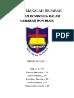 Makalah Sejarah Peranan Indonesia dalam GNB