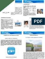 Boletín del Partido Popular de  Huéscar