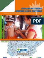 Situación Nutricional en el Corredor Seco de Guatemala