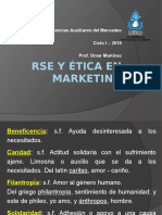 Responsabilidad Social y Etica en El Marketing