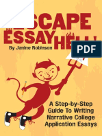 Escape Essay Hell a Step by S Janine Robinson