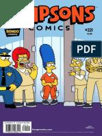 Simpsons Comics Issue 221 - 2015 USA