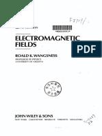 Wangsness Electromagnetic Fields