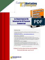 17. La Importancia de Internet en El Proceso Comercial