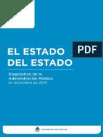 El Estado Del Estado Informe 2016