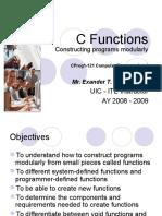 C Functions