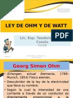 Ley de Ohm y de Watt