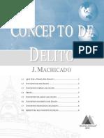 Concepto-Delito - J MACHICADO