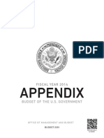 CMS Budget Appendix FY 2014