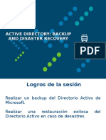 003-Active Directory Backup and Disaster Recovery.ppt