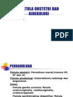 Fistula Obstetri Dan Ginekologi