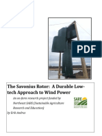 Savonius Windpower Report 2