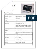 Specification of Opinion Plus