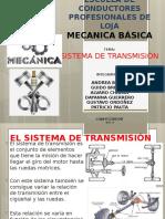 Mecanica Basica Transmision