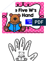 The Five W's -English and Spanish