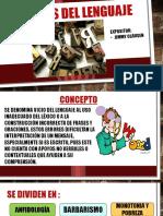 Vicios del lenguaje diapositvas Jimmy Clausen.pptx