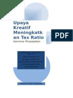 Kreatif Tax Ratio