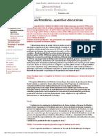 02-DISCURSIVA-hist_geo Rondônia - Questões Discursivas - Escrevendo Redação
