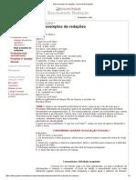 03-DISCURSIVA-Mais Exemplos de Redações - Escrevendo Redação