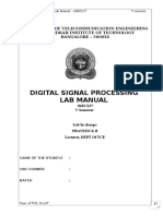 DSP Complete Manual