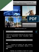 Sistemas de Agua Potable Rural
