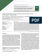 Design of Sequential Excavation Method f (1)