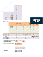 Discriminant Analysis in Excel