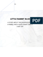 Little Rabbit Blue