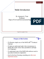 Matlab Intro 2013