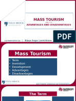 Mass Tourism PPT | Bizz Lamichhane - De Montfort University