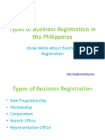 Types of Business Registration in the Philippines