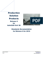 Production Solution Products Release 6 for AutoCAD Civil 3D